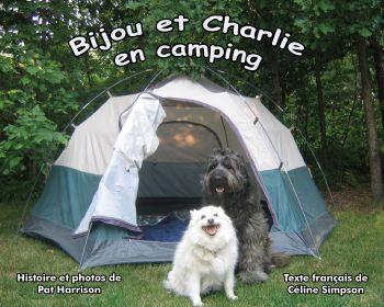 Bijou et Charlie en camping