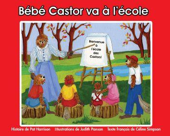 Bébé Castor va à l'école