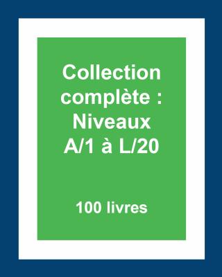 Collection complète des lectures guidées : Niveaux A/1 à L/20