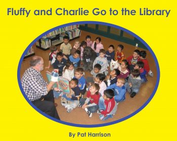Fluffy and Charlie Go to the Library