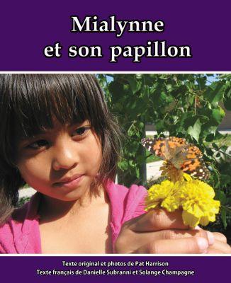 Mialynne et son papillon