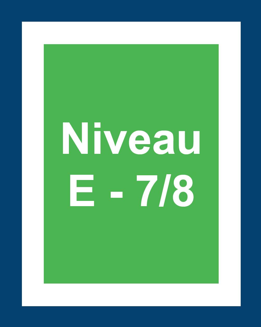 Niveaux 6 et 7