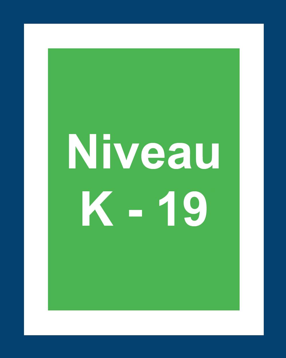 Niveaux 15 et 16